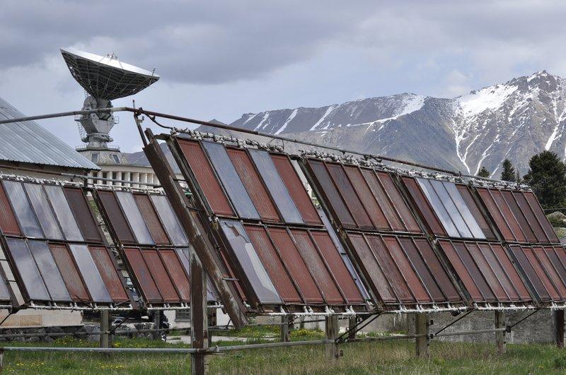 Ржавые солнечные батареи
