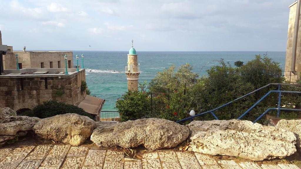 Набережная и мечеть старого Яффо