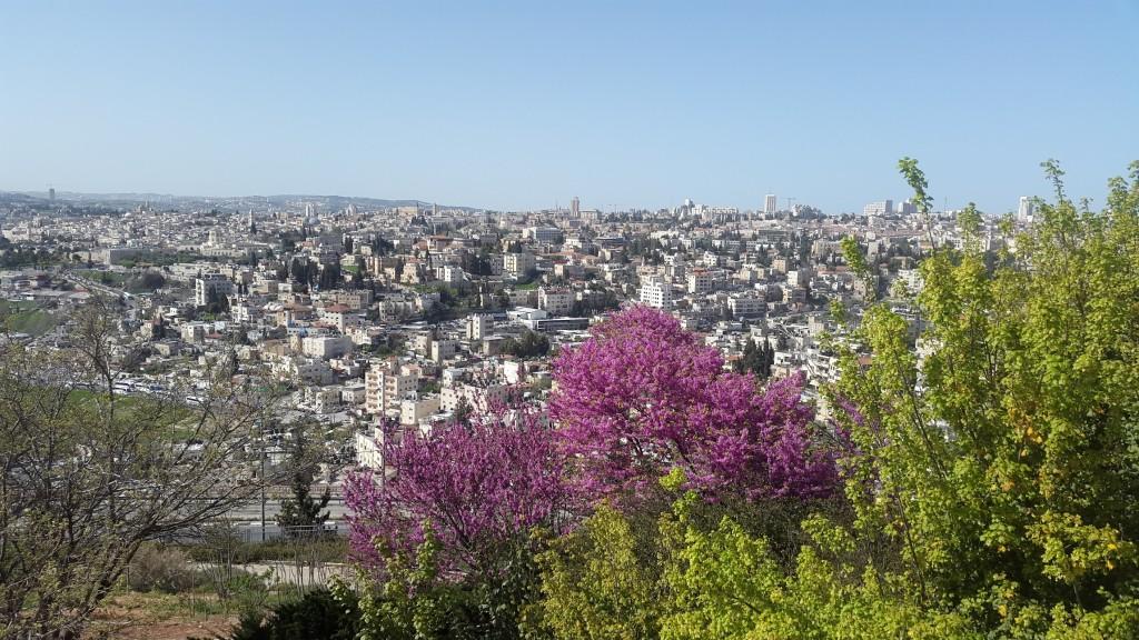 Вид на Иерусалим с Эйн Карем