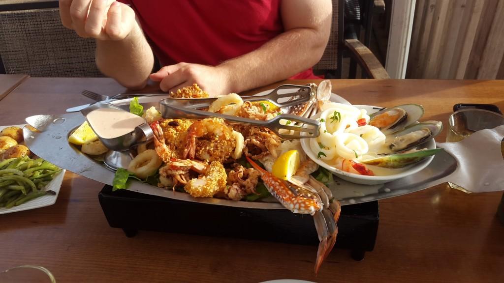 Еда в Израиле, Путешествие по Израилю, Морепродукты в Израиле