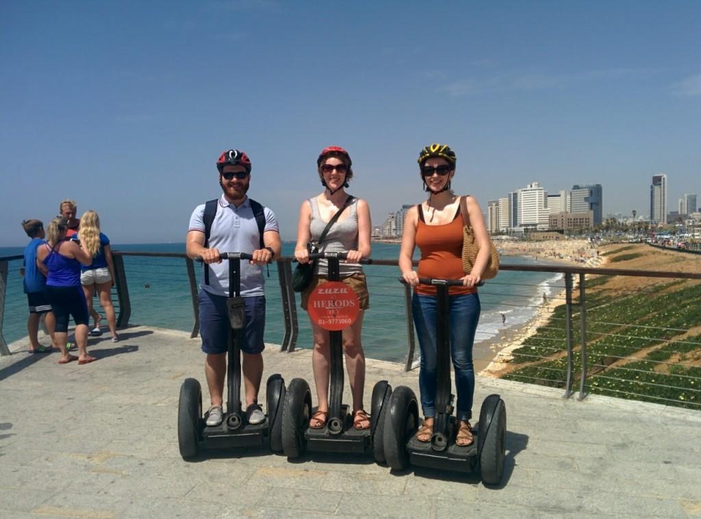 Экскурсия на сегвеях по набережной Тель-Авива