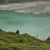 Большое Алматинское Озеро: голубое на зелёном